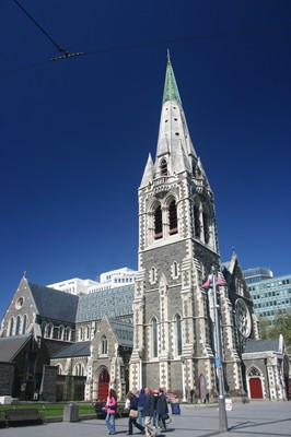 Christchurch Cathedral, New Zealand